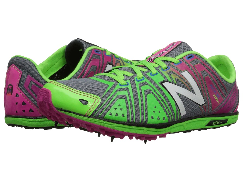 New Balance - WXC700v3 Spike (Pink/Green) Women's Shoes