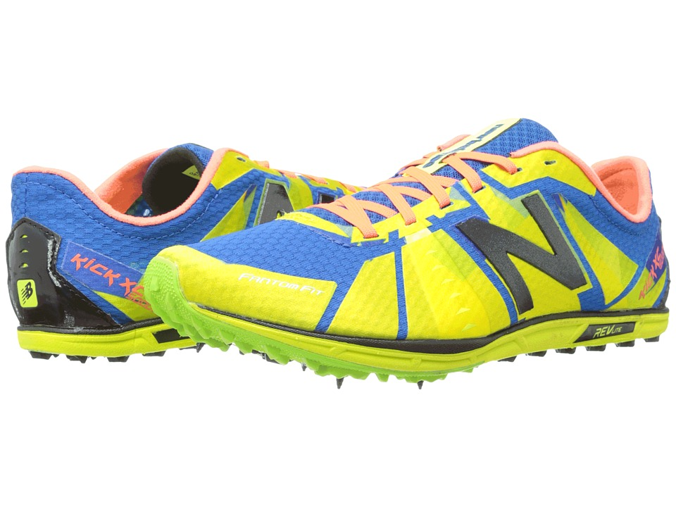 New Balance - MXC5000v1 Spike (Green/Blue) Men's Shoes