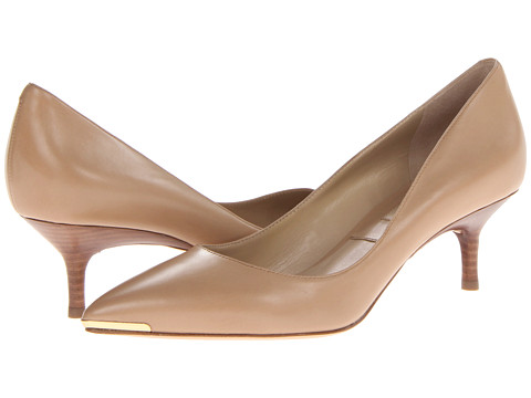Michael Kors - Trisha (Toffee 18K Smooth Calf) Women's 1-2 inch heel Shoes