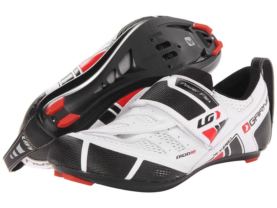 Louis Garneau - Tri X-Speed (White) Men's Cycling Shoes