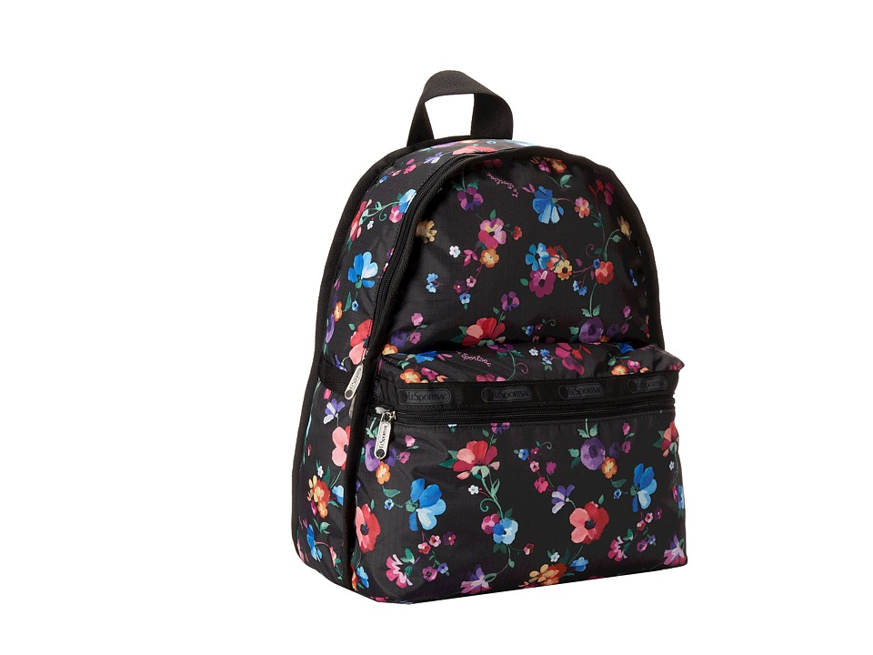 LeSportsac - Basic Backpack (Impressionist Flower) Backpack Bags
