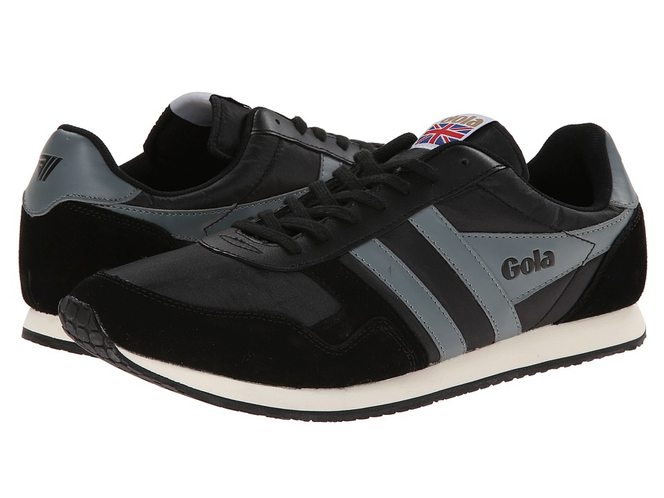 Gola - Spirit (Black/Grey) Men's Shoes
