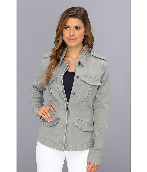 Joe's Jeans - Military Peplum Jacket in Vail (Vail) Women's Coat