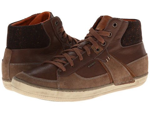 Geox - U Box (Hi Top) (Desert/Whisky) Men