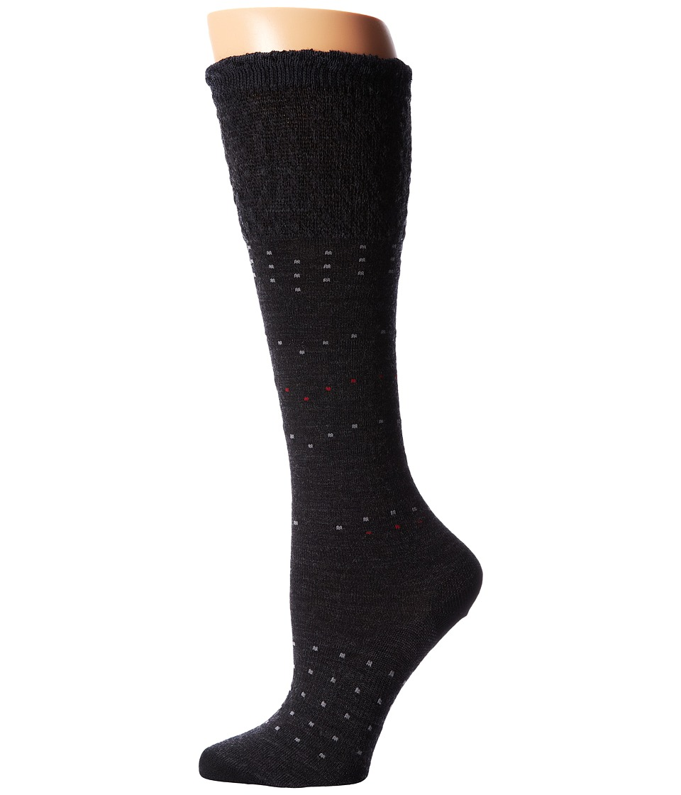 Smartwool - Fanflur (Charcoal Heather) Women's Crew Cut Socks Shoes