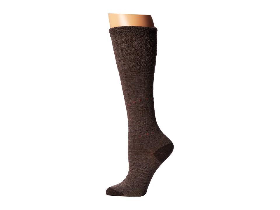 Smartwool - Fanflur (Taupe Heather) Women's Crew Cut Socks Shoes