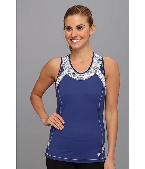 De Soto - Forza Riviera Tri Top (Triumphant Navy w/ Print) Women's Clothing