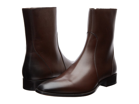 DSQUARED2 - Bond Street Ankle Boot (Dark Brown) Men's Boots