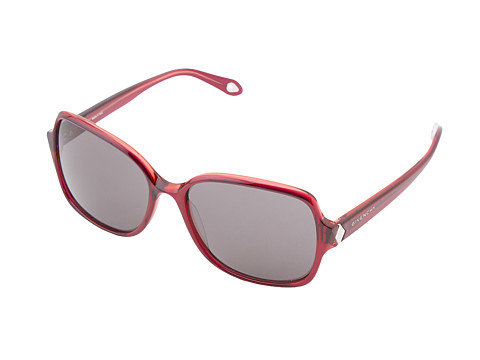 Givenchy - SGV 873 (Red/Ruthenium/Grey) Fashion Sunglasses