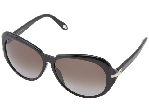 Givenchy - SGV 879 (Shiny Black/Grey) Fashion Sunglasses