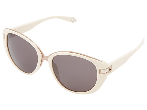 Givenchy - SGV 876 (Shiny Light Beige/Brown) Fashion Sunglasses