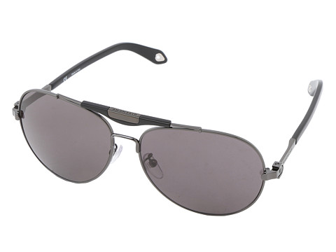 Givenchy - SGV A13 (Shiny Gunmetal/Grey) Fashion Sunglasses