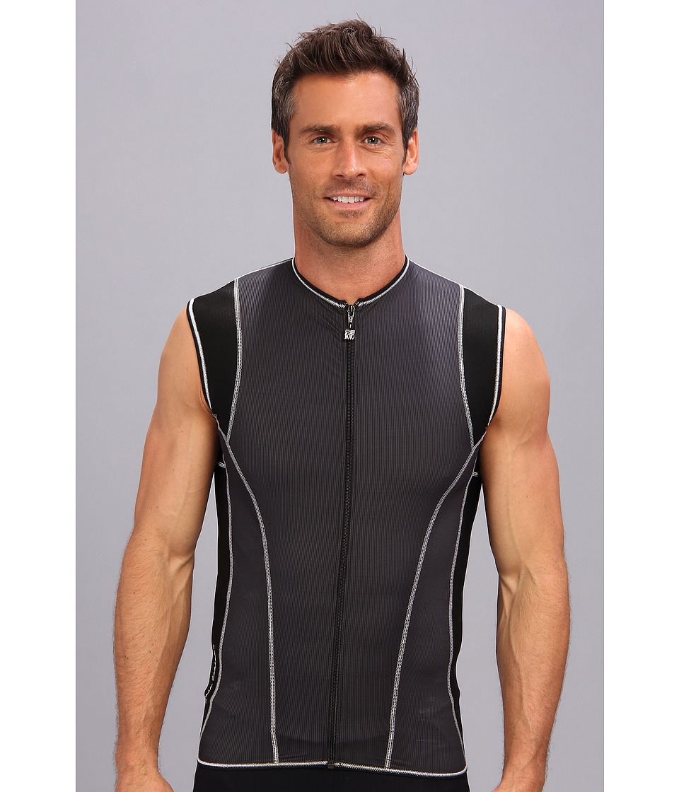 De Soto - Riviera Full-Zip Tri Jersey (Black) Men's T Shirt