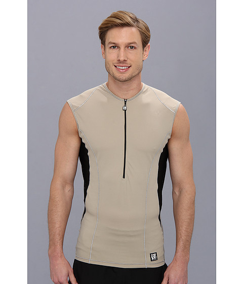 De Soto - Carrera Tri Jersey (Khaki) Men's Clothing