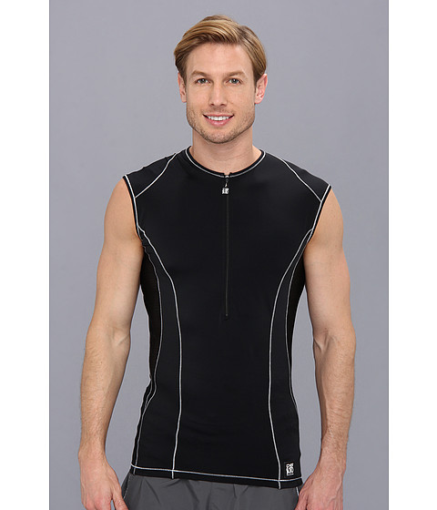 De Soto - Carrera Tri Jersey (Black) Men's Clothing