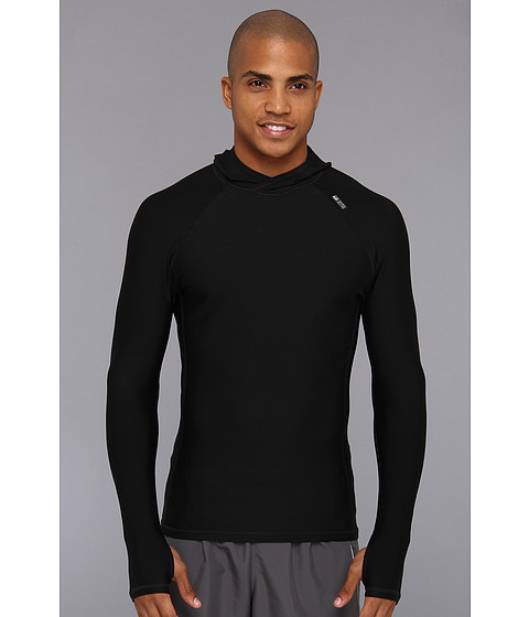 De Soto - Polypro Thermal Hood Jersey (Black) Long Sleeve Pullover