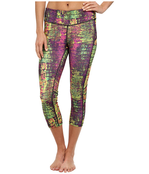 Skirt Sports - Redemption Capri (Snake Charmer Print) Women