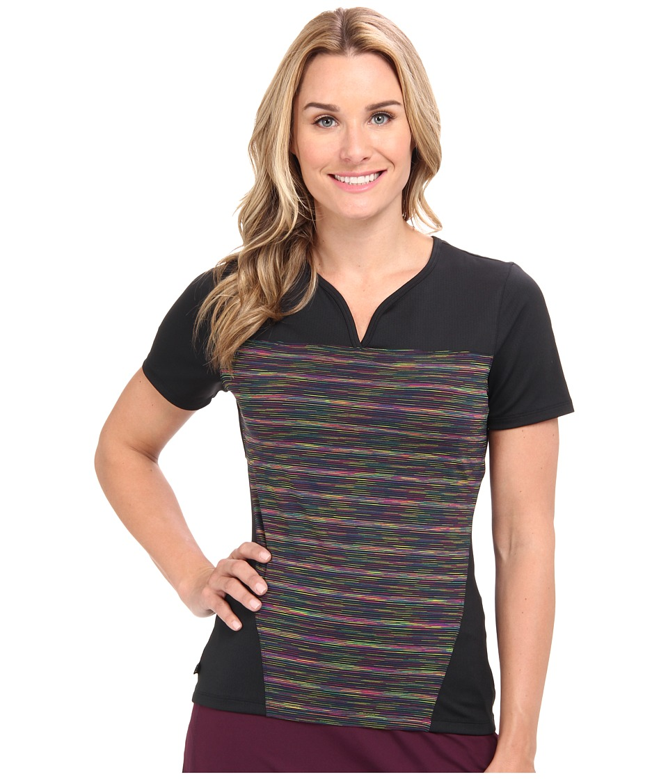 Skirt Sports - 261 Freedom Tee (Electric/Black) Women