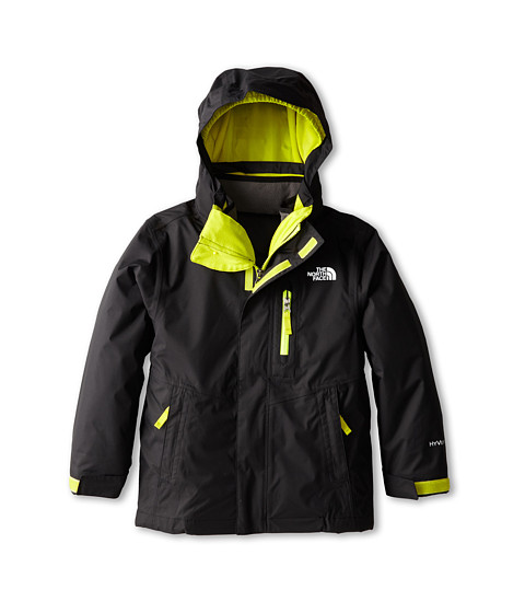 The North Face Kids - Reversible Sparker Triclimate Jacket (Little Kids/Big Kids) (TNF Black) Boy