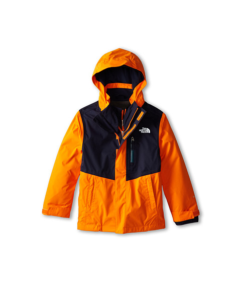 The North Face Kids - Reversible Sparker Triclimate Jacket (Little Kids/Big Kids) (Peel Orange) Boy