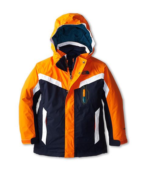 The North Face Kids - Boundary Triclimate Jacket (Little Kids/Big Kids) (Cosmic Blue/Peel Orange) Boy's Coat