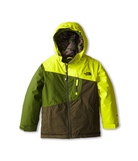 The North Face Kids - Gonzo Insulated Jacket (Little Kids/Big Kids) (Venom Yellow) Boy's Jacket