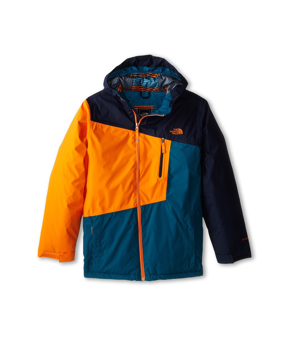 The North Face Kids - Gonzo Insulated Jacket (Little Kids/Big Kids) (Cosmic Blue) Boy's Jacket