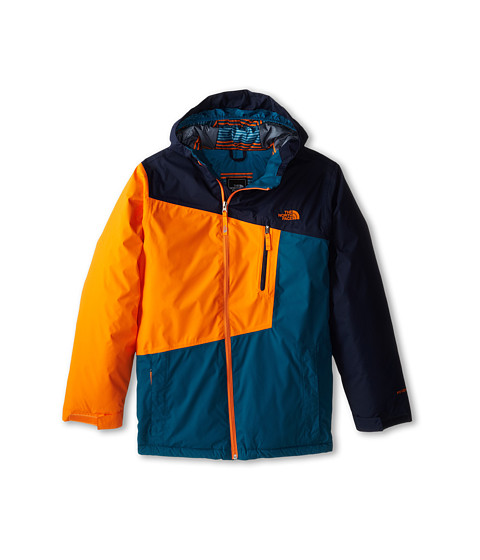 The North Face Kids - Gonzo Insulated Jacket (Little Kids/Big Kids) (Cosmic Blue) Boy