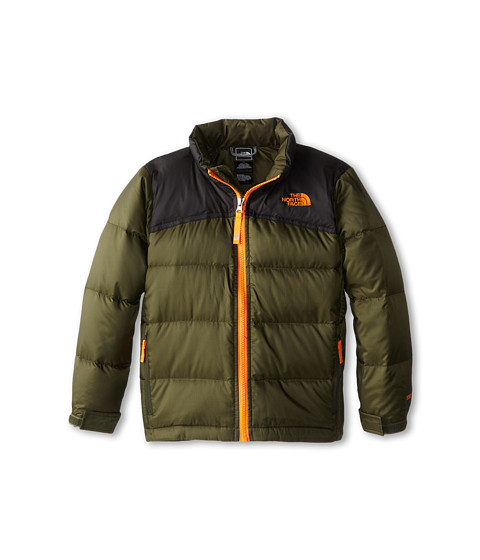 The North Face Kids - Nuptse II Jacket (Little Kids/Big Kids) (Forest Night Green) Boy's Coat