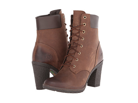 Timberland - Earthkeepers Glancy 6 Boot (Dark Brown) Women's Dress Lace-up Boots