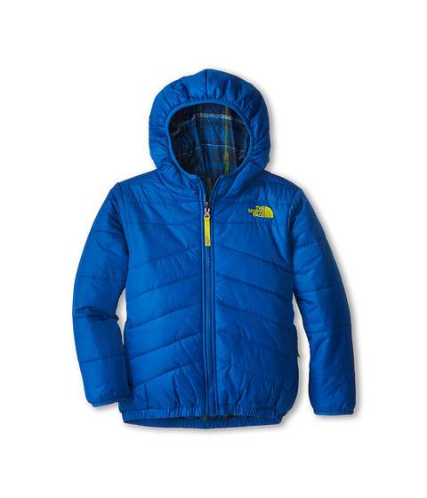The North Face Kids - Reversible Perrito Jacket (Little Kids/Big Kids) (Snorkel Blue) Boy's Jacket