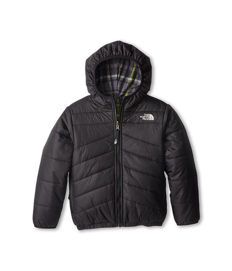 The North Face Kids - Reversible Perrito Jacket (Little Kids/Big Kids) (TNF Black) Boy