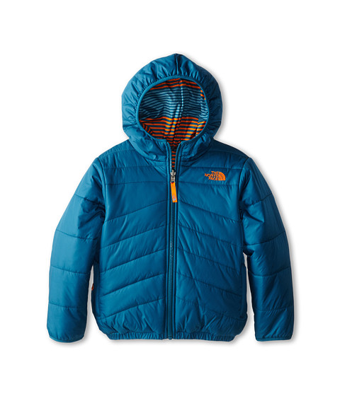 The North Face Kids - Reversible Perrito Jacket (Little Kids/Big Kids) (Egyptian Blue) Boy