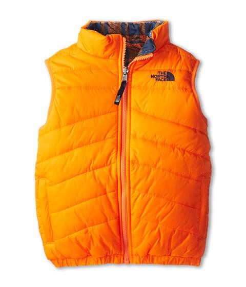 The North Face Kids - Reversible Perrito Vest (Little Kids/Big Kids) (Peel Orange) Boy's Vest