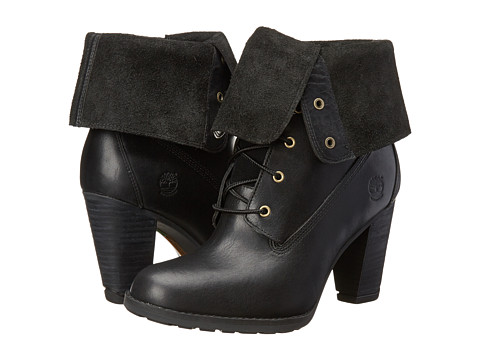 Timberland - Earthkeepers Stratham Heights Waterproof Fold-Down (Black) Women