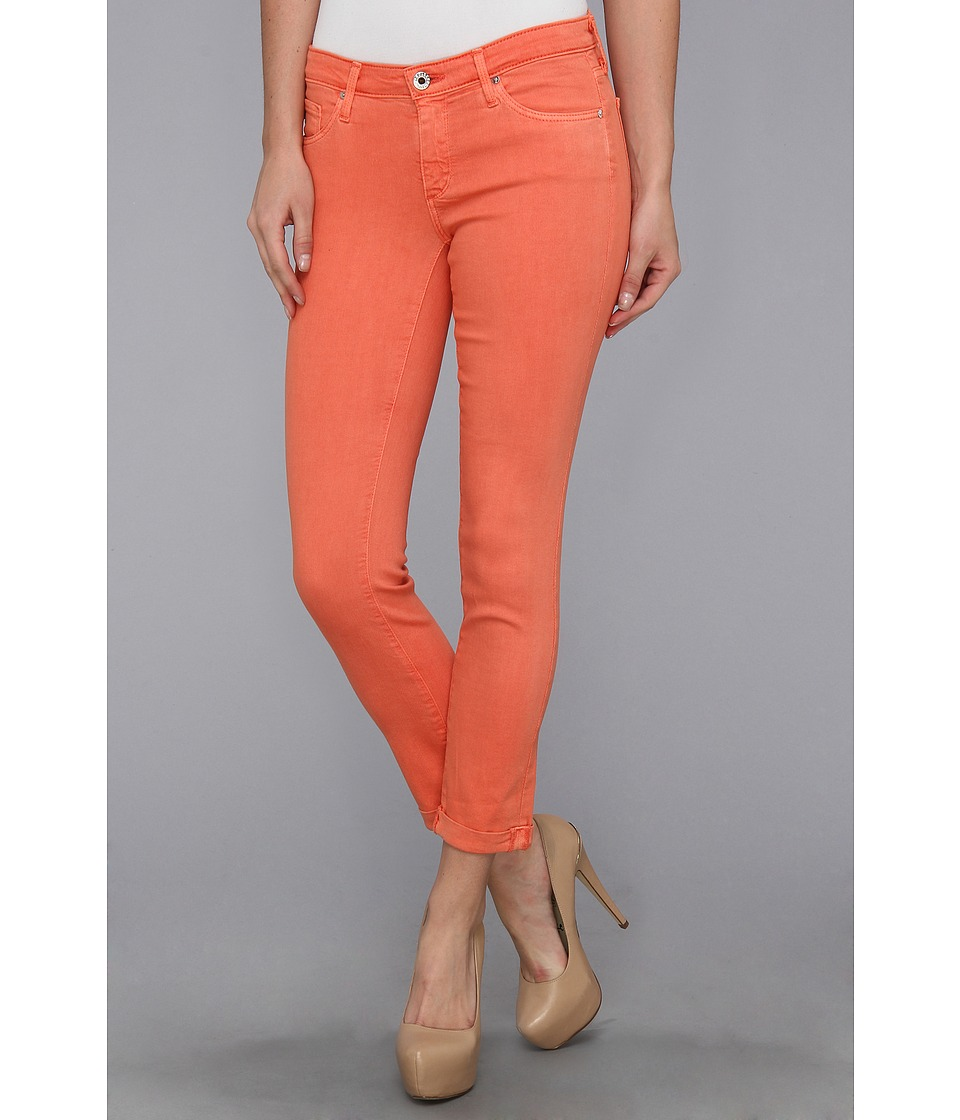 AG Adriano Goldschmied - The Stilt Roll-Up Twill (Pigment Papaya) Women's Jeans
