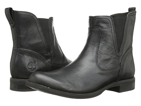 Timberland - Earthkeepers Savin Hill Chelsea (Black) Women's Pull-on Boots