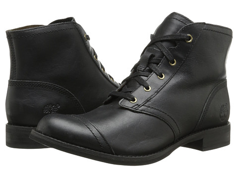 Timberland - Earthkeepers Savin Hill Lace Chukka (Black) Women's Lace-up Boots