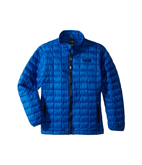 The North Face Kids - Thermoball Full Zip Jacket (Little Kids/Big Kids) (Snorkel Blue) Boy's Coat