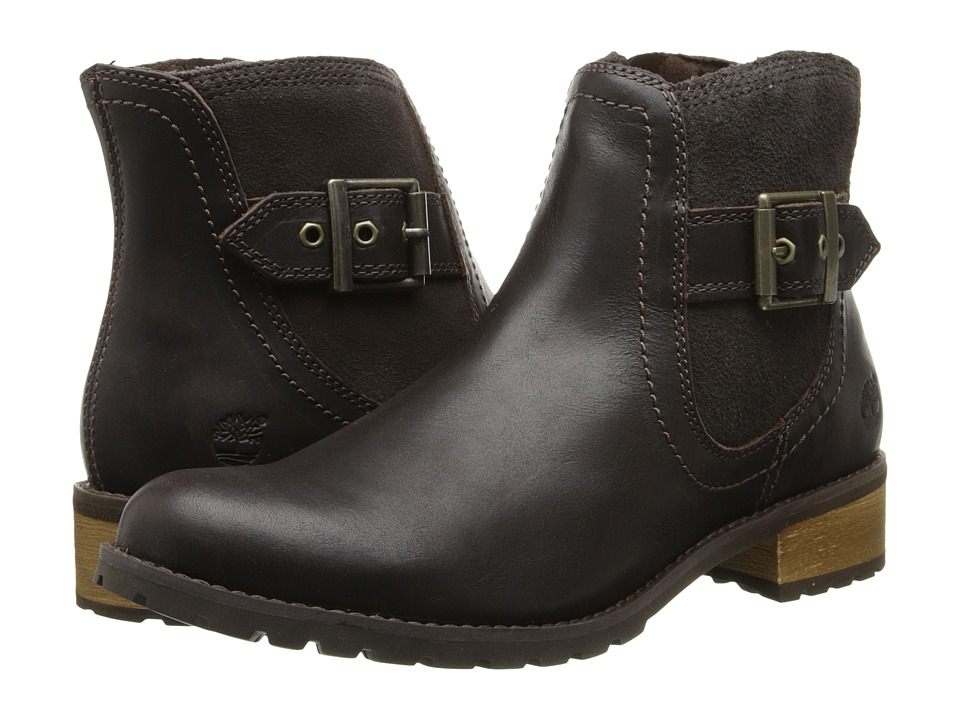 Timberland - Earthkeepers Bethel Ankle Boot (Brown) Women's Zip Boots