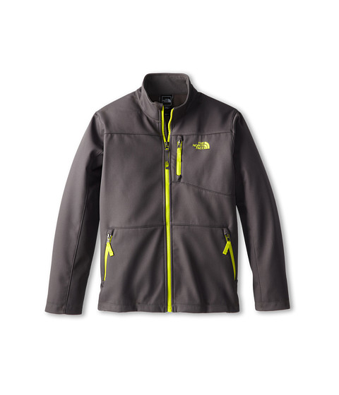 The North Face Kids - TNF Apex Bionic Jacket (Little Kids/Big Kids) (Graphite Grey/Venom Yellow) Boy's Coat