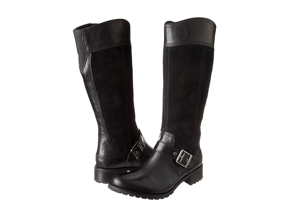Timberland - Earthkeepers(r) Bethel Tall Boot (Black) Women's Zip Boots