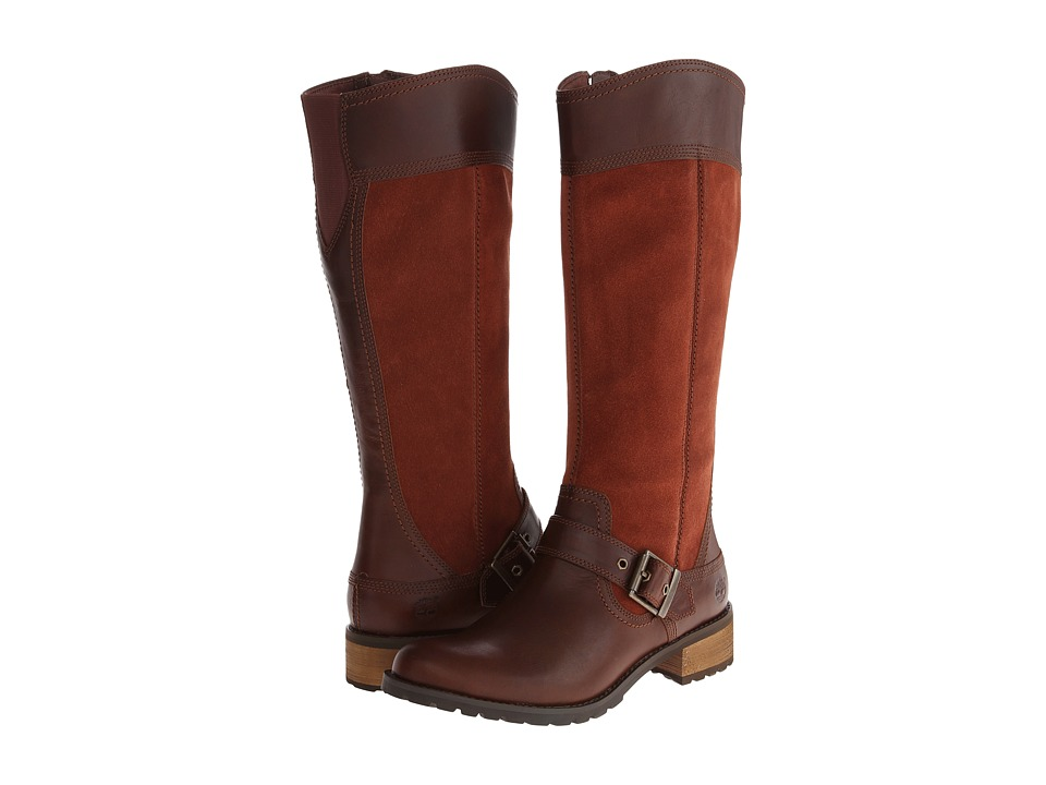 Timberland - Earthkeepers Bethel Tall Boot (Glazed Ginger) Women's Zip Boots