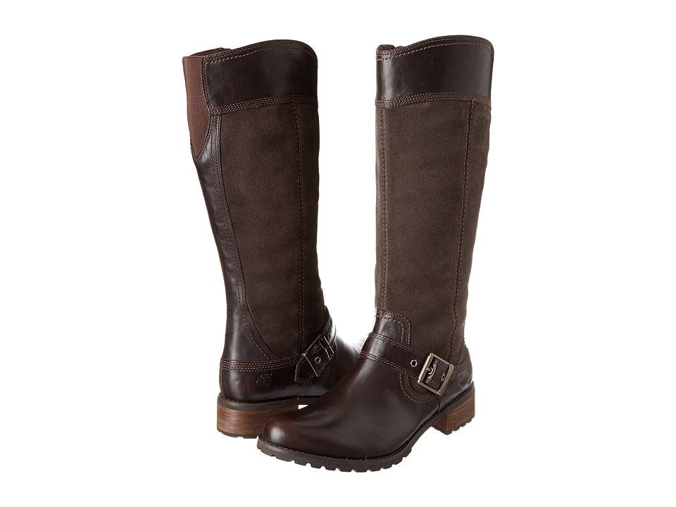 Timberland - Earthkeepers Bethel Tall Boot (Brown) Women's Zip Boots