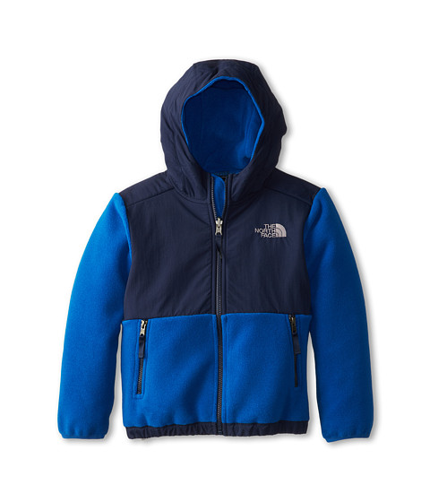The North Face Kids - Denali Hoodie (Little Kids/Big Kids) (Recycled Snorkel Blue) Boy's Sweatshirt