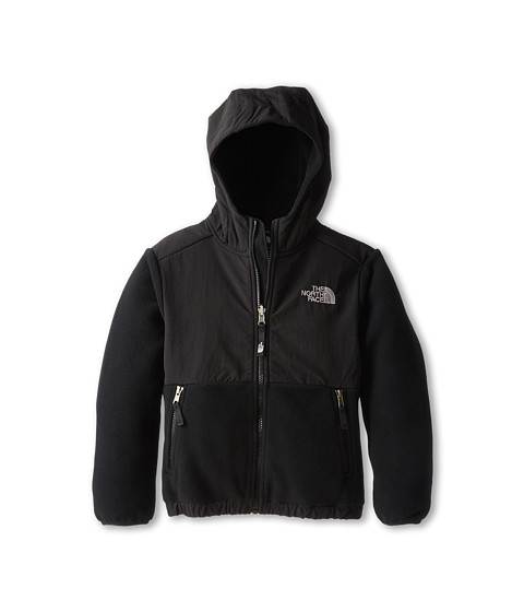 The North Face Kids - Denali Hoodie (Little Kids/Big Kids) (Recycled TNF Black) Boy's Sweatshirt