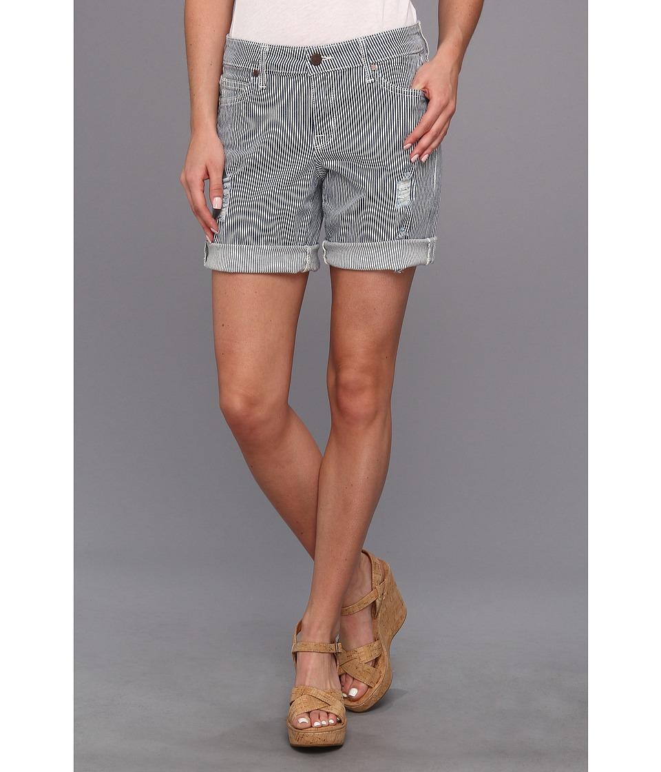 CJ by Cookie Johnson - Divine Boyfriend Short in Navy (Navy) Women's Shorts