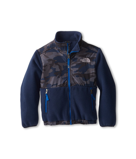 The North Face Kids - Denali Jacket (Little Kids/Big Kids) (Recycled Cosmic Blue Camo Print) Boy's Coat
