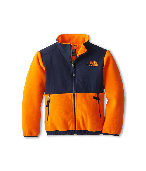 The North Face Kids - Denali Jacket (Little Kids/Big Kids) (Recycled Peel Orange) Boy's Coat