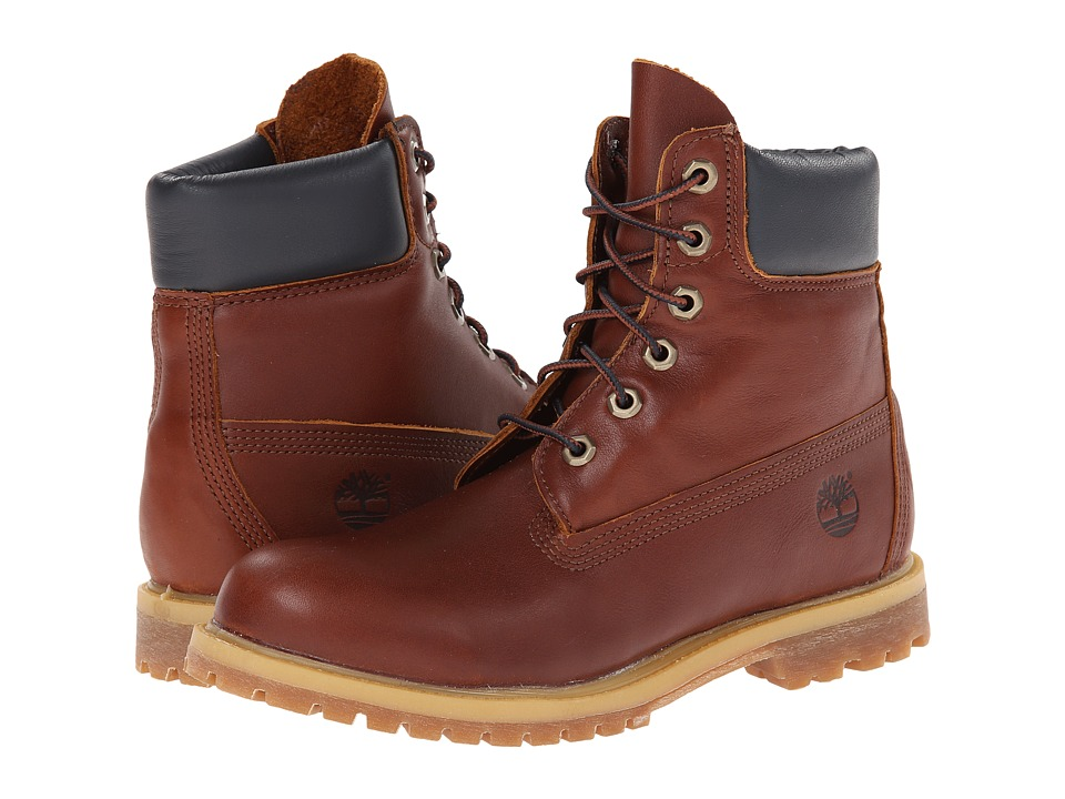 Timberland - 6 Premium Boot (Glazed Ginger) Women's Lace-up Boots